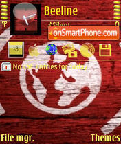 Worldred theme screenshot