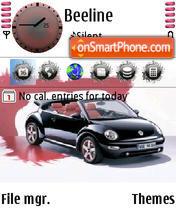 Black Beetle es el tema de pantalla