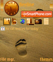Footprint theme screenshot