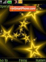 Abstract Stars theme screenshot