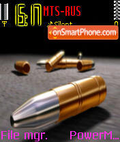 Bullets es el tema de pantalla