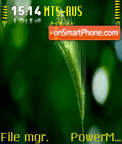 Crop es el tema de pantalla
