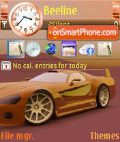 Brown Ferrari Theme-Screenshot
