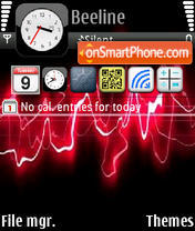 Chameleon iPhone Theme-Screenshot