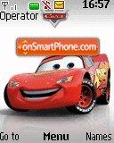 Cars - McQueen tema screenshot