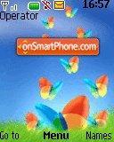 MSN Butterfly theme screenshot