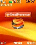 Orange Droplet theme screenshot