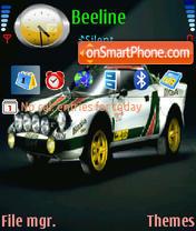 Скриншот темы Lancia Stratos