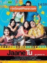 Jaane Tu Ya Jaane Na theme screenshot