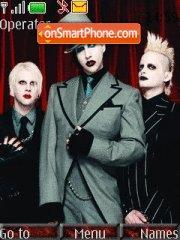 Marilyn Manson theme screenshot