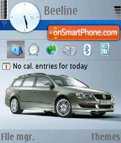 Volkswagen theme screenshot