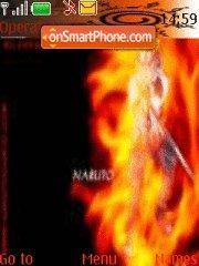 Скриншот темы Naruto