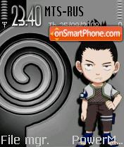 Nara Shikamaru theme screenshot