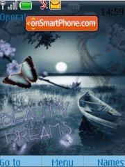 Beauty In Dreams theme screenshot
