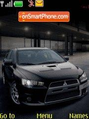 Lancer Evo X 03 theme screenshot