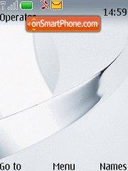 Nokia White V7 theme screenshot