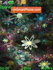 Скриншот темы Graphic Flowers