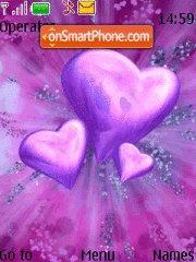 Lilac Heart theme screenshot
