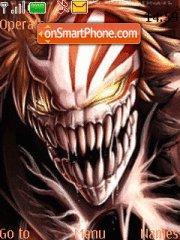 Ichigo Shiki theme screenshot