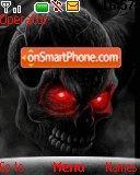 Red Eyed Skull theme screenshot
