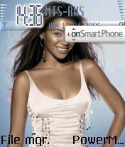 Beyonce es el tema de pantalla