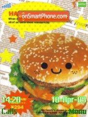 Happy Burger tema screenshot