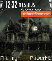 Haunted Housen es el tema de pantalla