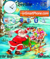 Christmas 2010 theme screenshot