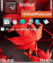 Autumn3 theme screenshot