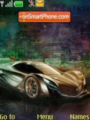 Mazda Furai theme screenshot