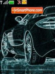 Drawn Mercedes theme screenshot