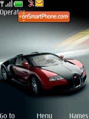 Capture d'écran Bugatti Veyron thème