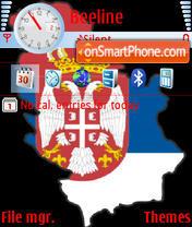 Serbia theme screenshot