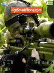 Sniper es el tema de pantalla