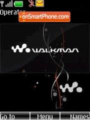 Black Walkman 01 theme screenshot
