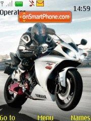 Yamaha R1 01 theme screenshot