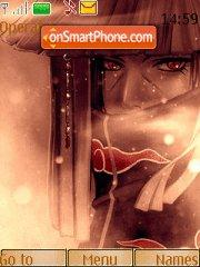 Uchiha Itachi 05 tema screenshot