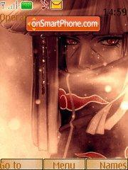 Скриншот темы Uchiha Itachi 05