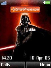 Darth Vader tema screenshot