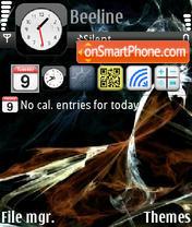 Abstrakt_iPhone theme screenshot