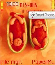 Anne Geddes Melonbabies es el tema de pantalla