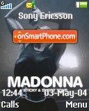 Madonna 09 theme screenshot