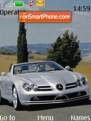 Mercedes Bensss theme screenshot