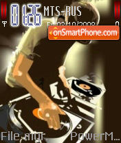 Hey Dj tema screenshot