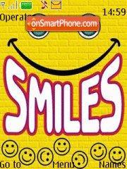 Smile 05 es el tema de pantalla