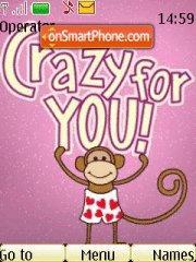 Crazy For You es el tema de pantalla