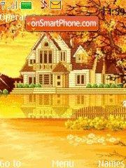 Autumn and House theme screenshot