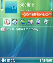 Vista Menu E-rex theme screenshot