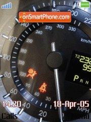 Speedometers es el tema de pantalla