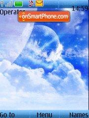 Скриншот темы Blue Sky